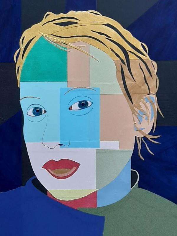 Portrait. Collage